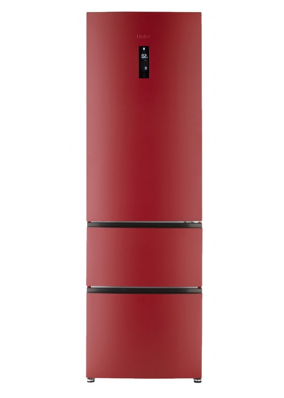 Frigorífico Haier A2FE735CRJ color rojo
