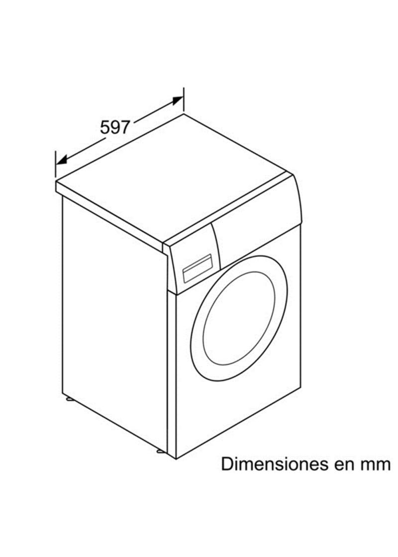 Lavadora balay 3ts853 comprar al mejor precio en for Medidas de lavadoras