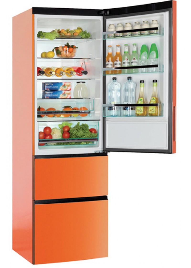 frigor fico haier a2fe735coj naranja. Black Bedroom Furniture Sets. Home Design Ideas