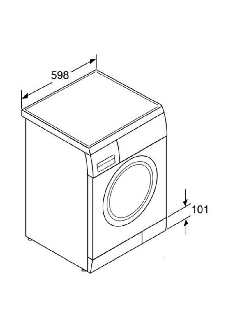 Lavadoras bosch waq24378ee lavadoras 8 kilos a for Cuanto pesa lavadora