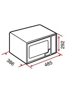 Teka MWE 230 G Blanco Microondas con Grill, 23 Litros