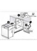 Medidas de lavavajillas 3VS504BA