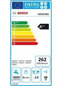 Bosch SMS25CI05E etiqueta energética